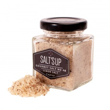 Lemon salt coarse