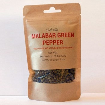 Malabar green pepper